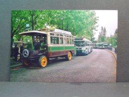 Paris Porte De Saint Cloud Autobus Schneider PB2 ? En Août 2003  2 Photos - Automobiles