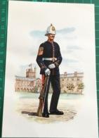 A Colour Sergeant Of The Royal Marine Artillery 1910 - Regiments