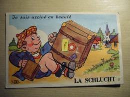 1 Carte Postale Systeme LA SCHLUCHT (68) - Frankreich