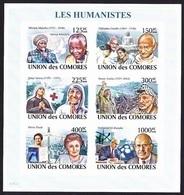 Red Cross / Croix Rouge - Les Humanistes / Comores, 2008 - Mahatma Gandhi