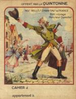 Protège Cahier QUINTONINE - Bon Voyage Monsieur Dumollet - Alimentaire