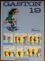 BD GASTON - 19 - Edition 40ème Anniversaire 1999 - Gaston
