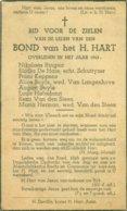 Overledenen Van 1943 Van De Parochie Van Het Heilig Hart Te Aalst - Esquela