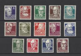 ALLEMAGNE ORIENTALE.  YT  N° 91/105  Neuf *  1953 - Unused Stamps
