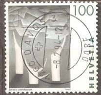 Switzerland: 1 Used Stamp, Wimen Paintings, 1993, Mi#1508 - Switzerland