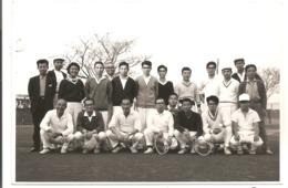 Photo Originale Du JAPON - Groupe De Japonais: Tennis - Sports