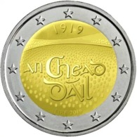 "IRLANDA  2€ 2.019  2019  BIMETALICA ""Centenary Of The First Meeting Of Dáil Éireannir""  SC/UNC    T-DL-12.308 - Irlanda"