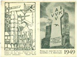 Kalender 1949 : Ijzerbedevaart - AVV-VVK - Calendriers