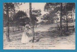 33 Gironde Cap Ferret Par Arcachon Foret Semaphore Route Hotel Cote D'argent Chez Roux - Otros Municipios