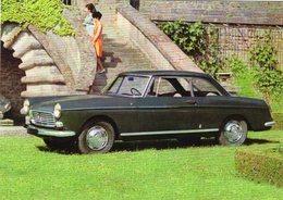 Peugeot 404 Coupé  -  1963  -  15 X 10 Cms PHOTO - Cars