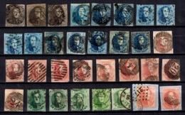 Belgique Très Belle Collection D'anciens Neufs **/*/oblitérés 1849/1933. Nombreuses Bonnes Valeurs. Très Forte Cote! - Belgien