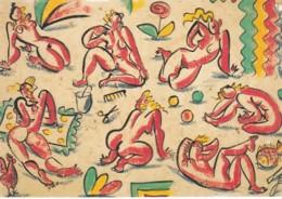 1955120Eddy Varekamp, Zeven Dames, Vis En Kip. (REPRO) - Illustratori & Fotografie