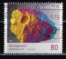 Bund 2019,Michel# 3478 O Mikrowelten: Mondgestein - Gebraucht