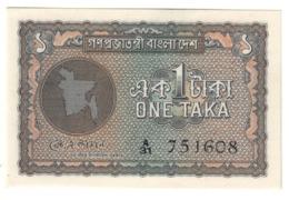 BANGLADESH1TAKA1972P4UNC.CV. - Bangladesh