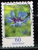 Bund 2019,Michel# 3481 O Blumen: Flockenblume Selbstklebend - Gebraucht