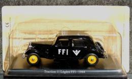 Citroën Traction 11 Légère FFI Résistance 1944 - 1/43 NEUF Sous Blister - Cars & 4-wheels