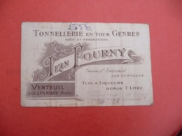 TONNELLERIE Venteuil EPERNAY Marnes - Visiting Cards
