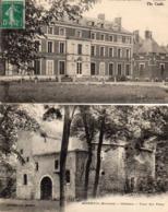 MOREUIL - Le Château Et La Tour Des Fêtes - Moreuil
