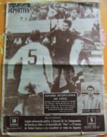 Deportes  VIDA DEPORTIVA N° 873 Junio 1962 - FUTBOL COPA DEL MUNDO CHILE - Zeitungen & Zeitschriften