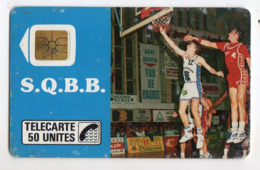 FRANCE D94 SQBB Saint Quentin Basket Ball 50U Tirage 1 000 Ex - Frankreich