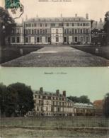 MOREUIL - Façade Du Château - Le Château - Moreuil