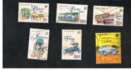 SINGAPORE   -  SG 869.879  -    1997  TRANSPORTS     -  USED ° - Singapore (1959-...)