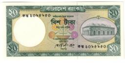BANGLADESH20TAKA1988P27UNCBlack Signature 27A.CV. - Bangladesh