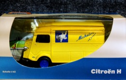 Citroën Camionnette TUBE Type H Michelin - 1/43 NEUF Boîte Plastique & Carton - Voitures, Camions, Bus
