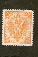 BOSNIE-HERZEGOVINE 1879/94  YVERT N°2 NEUF MH* - Briefmarken
