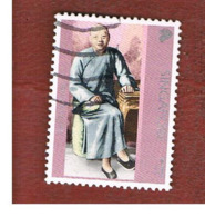 SINGAPORE   -  SG 1085  -    2001  TAN TOCK SENG   -  USED ° - Singapore (1959-...)