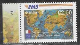 MALTA, 2019, MNH, POST, EMS, 1v - Correo Postal