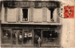 CARTE PUB - AU TAILLEUR MODERNE à AMIENS (80) Rare - Déchirure Partie Basse - Carte Postée - Werbepostkarten