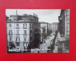Cartolina Palermo - Via Roma E Grand' Hotel Des Palmes - 1960 - Palermo