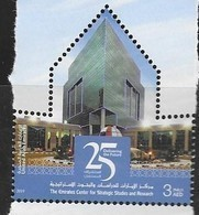 UAE, 2019, MNH, EMIRATES CENTER FOR STRATEGIC STUDIES AND RESEARCH ,1v - Architecture