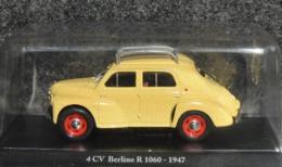 Renault 4 CV Berline R 1060 (jaune Afrika Korps) 1947 - 1/43 - NEUF Sous Blister - Cars & 4-wheels