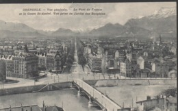 GRENOBLE __LE PONT DE FRANCE ET LE COURS ST-ANDRE - Grenoble