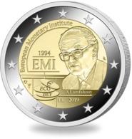 """BELGICA  2€ 2.019  2019  BIMETALICA """"EUROPEAN MONETARY INSTITUTE""""  SC/UNC    T-DL-12.310 - Bélgica"""