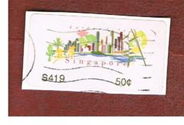 SINGAPORE - MI AT11 -  2007  THE GARDEN CITY  -  USED ° - Singapore (1959-...)