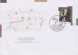 POLOGNE, FDC Compositeur Krzysztofa Pendereckiego, Musique, Cinema, 2013 - Music