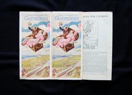 Brossura Turistica Come Si Viaggiava In Germania XI Olimpiade Berlino 1936 - Vecchi Documenti