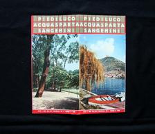 Brossura Turistica Terni Piediluco Acquasparta Sangemini Turismo - Vecchi Documenti