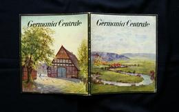 Guida Turistica Germania Centrale XI Olimpiade Berlino 1936 Lipsia Dresda - Vecchi Documenti
