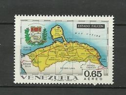 Venezuela ** Mnh 1971  ** Mnh  FALCON - Venezuela