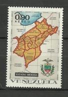 Venezuela ** Mnh 1971  ** Mnh  MERIDA - Venezuela