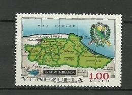 Venezuela ** Mnh 1971  ** Mnh  MIRANDA - Venezuela