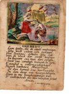 Image Pieuse 18e S S.Verbruggen (Joh. De Doper- Baptème Du Christ) - Images Religieuses