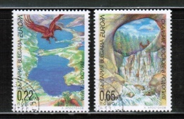 CEPT 2001 BG MI 4512-13 USED BULGARIA - 2001