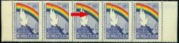 Russia 1963 Human Rights,Rainbow,Chain,Torch,Globe,Mi.2860,MNH,Variety ERROR - 1923-1991 USSR