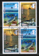 CEPT 2001 AZ MI 494-95 D USED AZERBAIJAN - Europa-CEPT