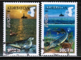 CEPT 2001 AZ MI 494-95 A USED AZERBAIJAN - 2001
